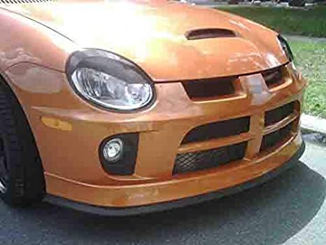 iJDMTOY Universal PU Front Bumper Lip Splitter Chin Spoiler Body Kit Trim 2.5 Meters 8ft Matte Black