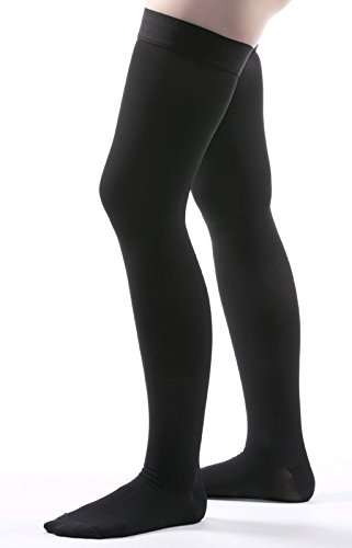 7d6902ea7cc Image Unavailable. Image not available for. Color  Allegro 20-30 mmHg  Surgical 205 212 Thigh High Closed Toe Medical Compression Stocking