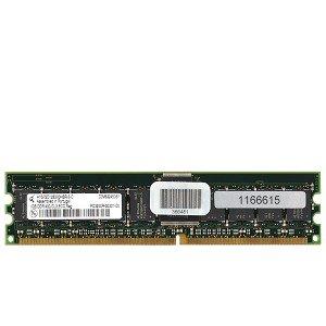 - Qimonda 1GB DDR RAM PC-3200 ECC Registered 184-Pin DIMM