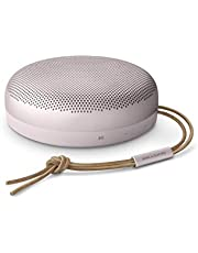 Bang & Olufsen Beosound A1 2nd Gen Portable Wireless Bluetooth Speaker w/Voice Assist & Alexa Integration, 3 Microphones for Great Call Quality, 18 Hour Playtime, IP 67 Dustproof and Waterproof, Pink