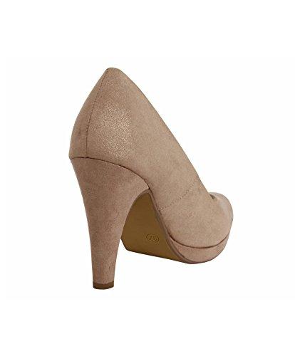 Escarpins pour Femme URBAN 733536-B7200 NUDE