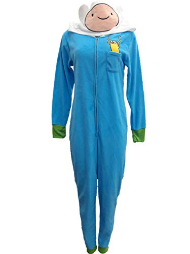 Adventure Time Women's Jake and Finn Onesie Pajama