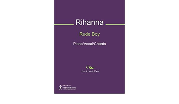 Rude Boy Sheet Music Pianovocalchords Kindle Edition By Tor