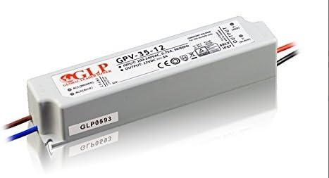 mm a3843glp profesional LED transformador 36/V DC 1,67/A 60/W /überlastschutz de tensi/ón protecci/ón de cocinas: cortocircuito CE constante T/ÜV resistente al agua IP67 SELV