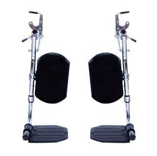 Invacare Elevating Legrests for Tracer and 9000 1208: Footplate Type - Composite Footplates