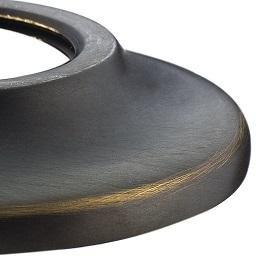 Waterworks Henry 18'' Single Metal Towel Bar in Carbon