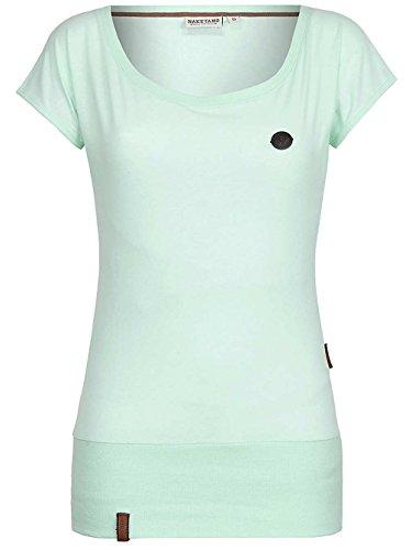 Naketano Wolle IX W Camiseta verde jaspeado