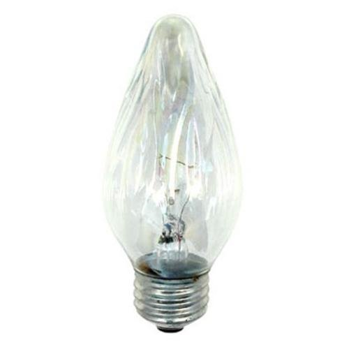 GE Flame Shaped Auradescent Bulb, 25 Watt (4 Pack)