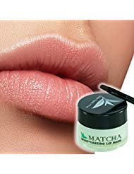 Moisturizing Green Tea Matcha Sleeping Lip Mask Balm, Younger Looking Lips Overnight, Best Solution For Chapped And Cracked...