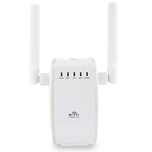 BeiLan Dual Band WiFi Range Extender Repeater Access Point Mini Housing Design, Extends WiFi to Smart Home & Alexa Devices Version Wi-Fi Range Extender (WiFi Repeater)