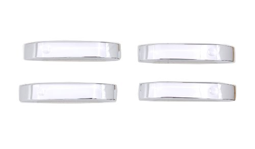 Auto Ventshade 685402 Chrome Door Lever Covers, 4-Door Set for 2004-2014 Ford F-150 (Handle Only) (2013 Ford F150 4 Door For Sale)