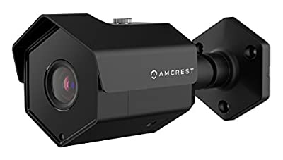 2-Pack Amcrest ProHD Outdoor 1080P POE Bullet IP Security Camera - IP67 Weatherproof, 1080P (1920 TVL), IP2M-842E from Amcrest