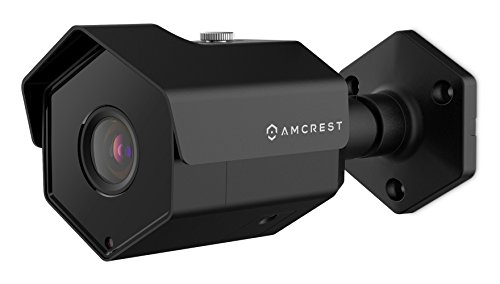 Amcrest ProHD Outdoor 1080P POE Bullet IP Security Camera - IP67 Weatherproof, 1080P (1920 TVL), IP2M-852E (Black)