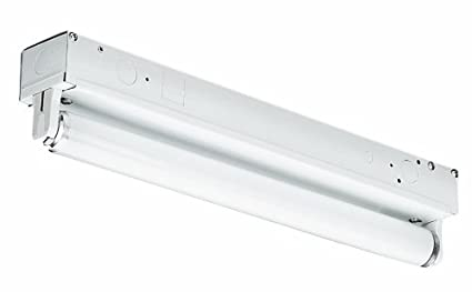 Thomas Lighting FS132-EB One-Light Fluorescent Strip Light, White, 2 ...