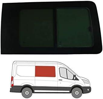 Mano derecha, tintado oscuro apertura ventana para Panel lateral OPP. Puerta Corredera Ford Transit MK8 (2014 On): Amazon.es: Coche y moto