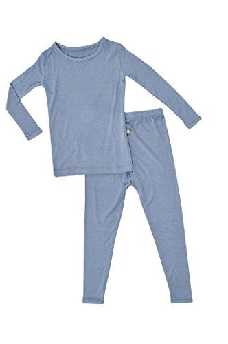 KYTE BABY Toddler Pajama Set (Slate, 6T) (Weed Pyjamas)