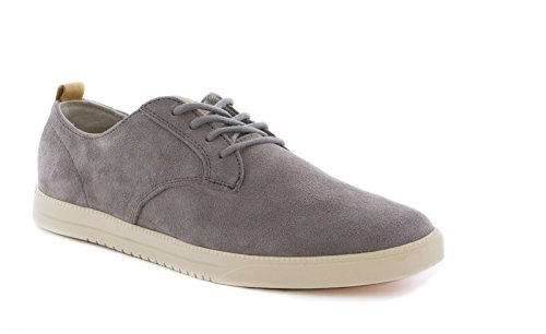 Clae Men's Ellington Suede Concrete Suede 8 D - Medium