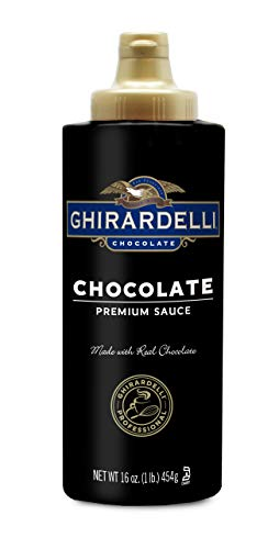 Ghirardelli Chocolate Flavored Sauce, Chocolate, 16- Ounce Bottles (Pack of 6) ()