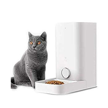 Image of PETKIT Automatic Cat Feeder Dog Feeder, Wi-Fi Enabled SmartFeeder, App for iOS and Android,Work with Alexa, Portion Control with Timer programmable, Fresh Lock System Auto Food Dispenser Pet Feeder Pet Supplies