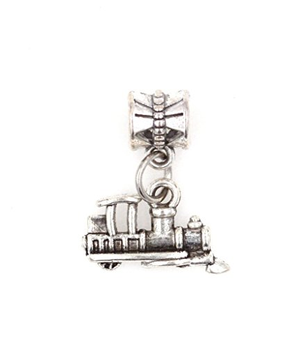 It's All About...You! Train Dangling European Bead Charm 89S (Engine Spacer)