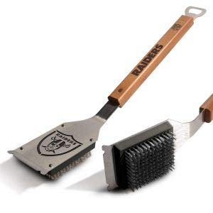 YouTheFan NFL Oakland Raiders Grill Brush