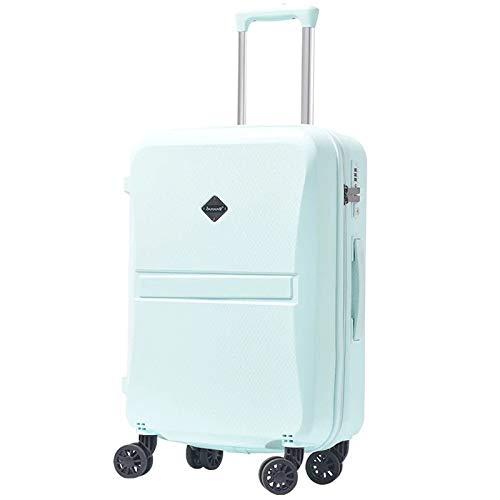 20インチ24インチガールトロリーケースPP学生ラブリートラベルバッグ防水荷物ローリングスーツケースエクステンション搭乗ボックス (Color : Pink, Luggage Size : 24+quot;) B07SH2753R Pink 24+quot;