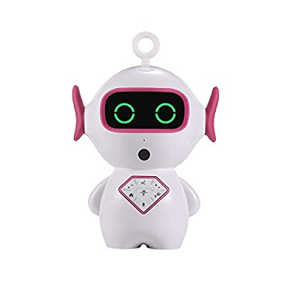 heshunze Smart Robot Toy Educational Toy Gift APP Control for Kids with LED Light Intelligent Voice Control,Dialogue, Singing, Tell Stories,Chat,Setup Clock
