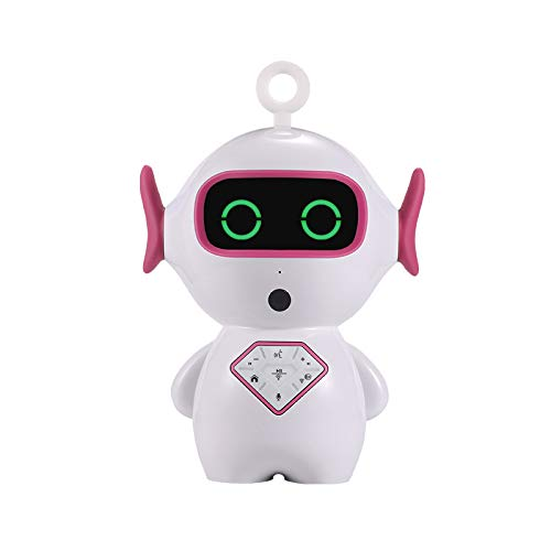 Smart Robot Toy Educational Toy Gift APP Control for Kids with LED Light  Intelligent Voice Control,Dialogue, Singing, Tell Stories,Chat,Setup