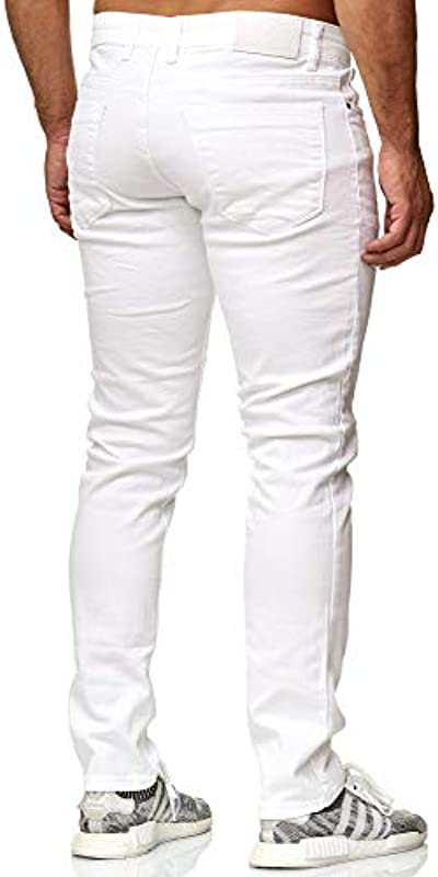Efo Style dżinsy męskie Denim Stretch w stylu Basic E165251: Odzież
