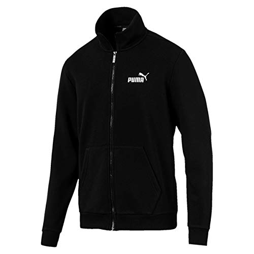 Uomo Puma Nero Tr Sweatshirt Track Jacket Ess 0q0CXA