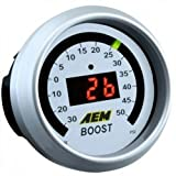 AEM Electronics 30-4408 Digital Boost 30-50 PSI Gauge