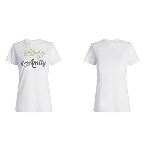 Neue Freiheit Und Freundlichkeit Damen T-shirt l686f