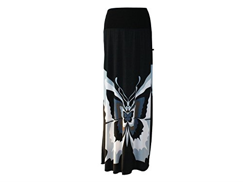 Y Ajustado Para Dunkle Gris Negro Mujer Design Falda H1w6Y