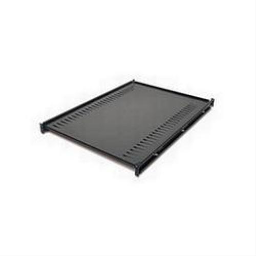 APC - Rack shelf (ventilated) - black - for NetShelter EP; NetShelter ES; NetShelter SX; Netshelter VX; NetShelter WX ()