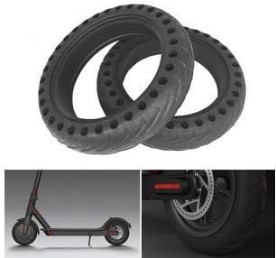 Grizack Neumáticos de Repuesto para neumáticos de Goma Maciza de 1 Pieza para el Scooter eléctrico Xiaomi Mijia M365 8 1 / 2x2 (Only One)