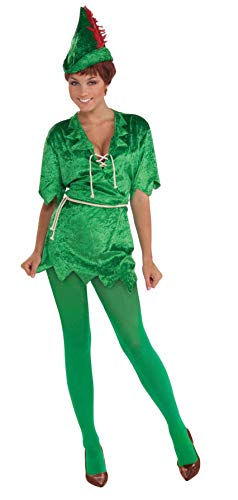 Forum Novelties Women's Peter Pan Costume, Green,