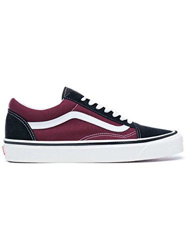 Vans Old Skool 36 DX Schuhe black/og burgundy