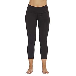 Just Love 401574-BLK-M Yoga Capri Pants for Women Black