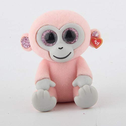 Coiny Bebe 1pcs Random Mini Collectible Toys Hand Painted with Checklist Dog Penguin Unicorn Giraffe Animal Pink Monkey
