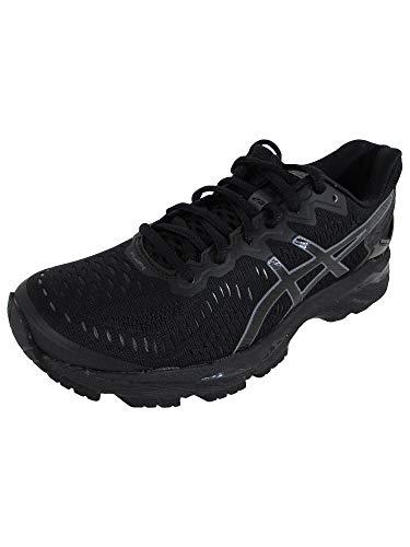 ASICS Women's Gel-Kayano 23 Running Shoe, Black/Onyx/Carbon, 5.5 M US
