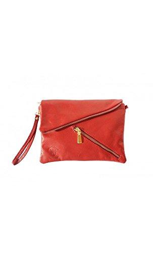 Women Choice Handbags , Damen Umhängetasche Schwarz schwarz Light Red
