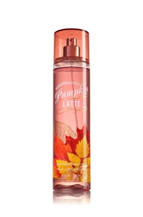 Pumpkin Marshmallow - Bath and Body Works Marshmallow Pumpkin Latte Fine Fragrance Mist