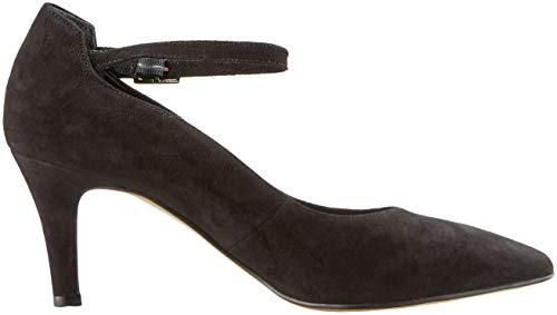 Tacón Zapatos Mujer black 1 Tamaris De Para 21 Negro 22432 I1FqTwP