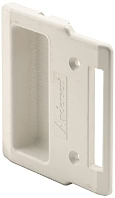 Prime-Line Products A 208 Sliding Screen Door Pull, White