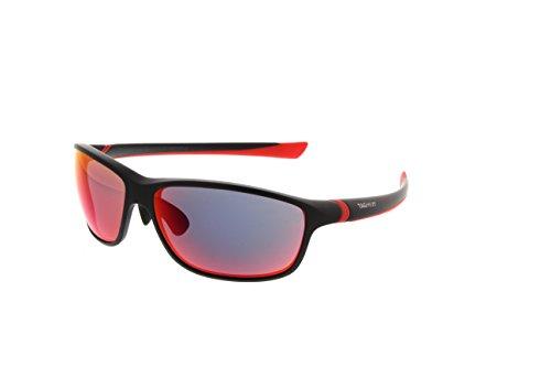 TAG Heuer 27 Degree Sunglasses Black Red Frame Infared Red Lens 6021 - Tag Degree Sunglasses 27 Heuer