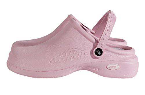 M & M Scrubs Vrouwen Lichtgewicht Verpleegstersschoenen / Voedingsklompen 6 B (m) Ons Roze