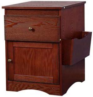 HOOSENG Bedside Cabinet