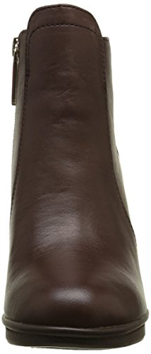 Femme Hilfiger 8a Bottes Marron coffeebean 212 Tommy Braun Classiques J1285akima Fdqt6X
