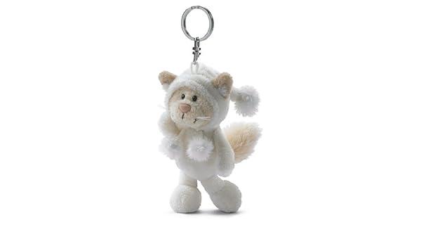 Nici 30601 - Llavero con gato de peluche (10 cm), color ...