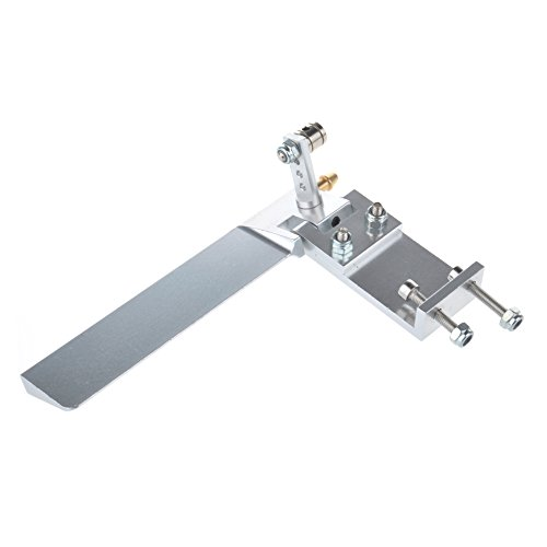 Aluminium Alloy 95mm(3.12in) Water Absorbing Steering Rudder with Absorbing Water Function Rc Boat Accessories